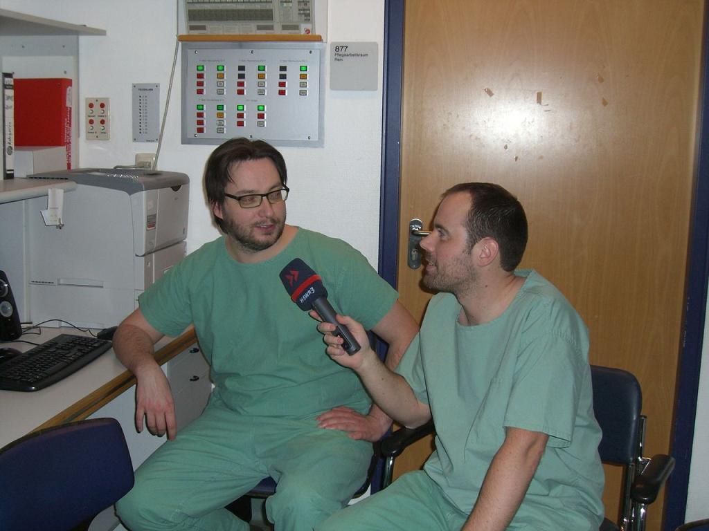 """Reportage """"Nachtschicht im Krankenhaus"""""""